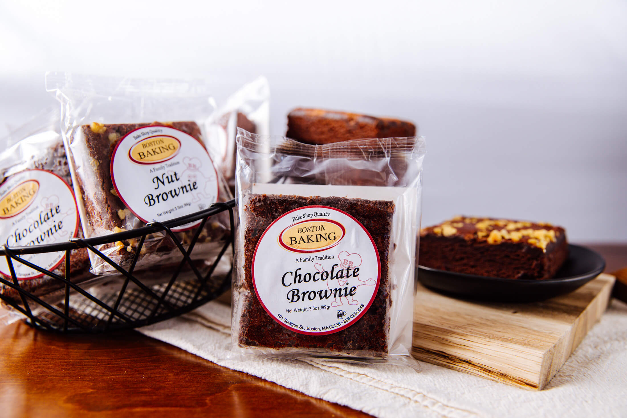 Boston Baking Individually Wrapped Brownie