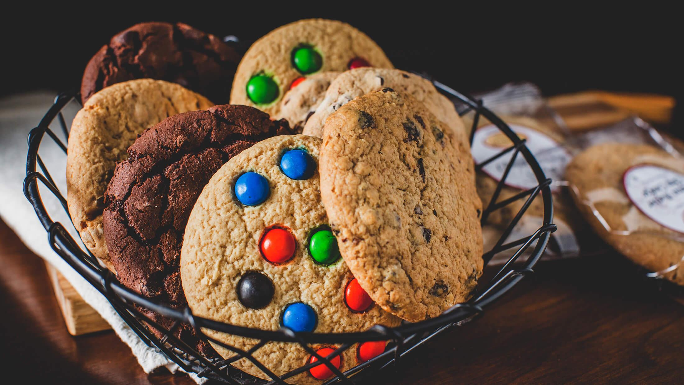 Boston Baking Cookie Basket